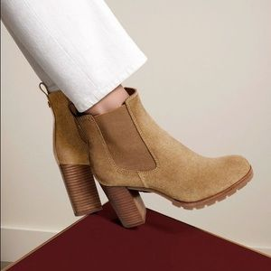 Tory Burch Stafford Suede Booties